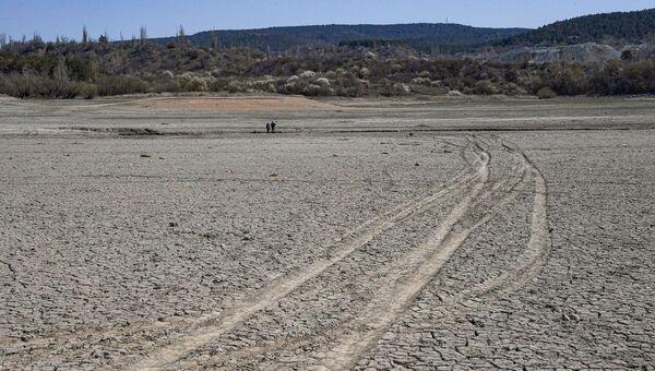 Симферопольское водохранилище засуха