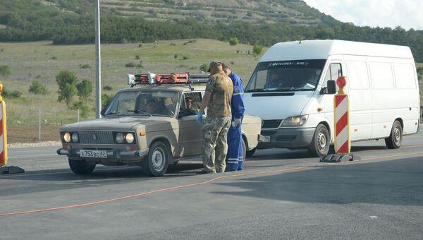 Коронавирус в Крыму. Проверка на блокпостах в Севастополе