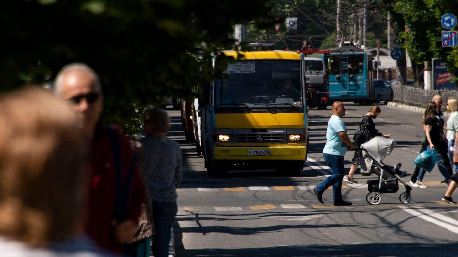 Автобус - РИА Новости, 1920, 21.09.2021