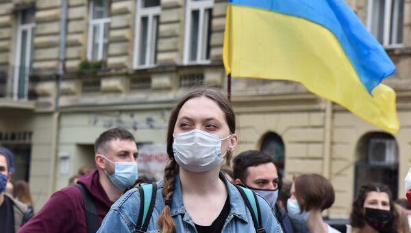 Акции на Украине с требованием отставки главы МВД А. Авакова