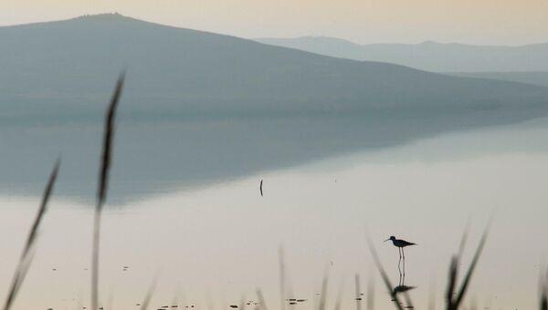 Мыс Опук, Киркояшское озеро. Вечер.