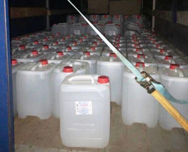 Нелегальное производство спирта обнаружили в Крыму