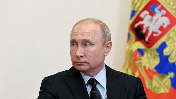 Президент РФ В. Путин провел совещание по информационным технологиям и связи