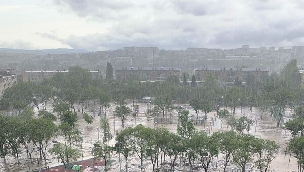 Последствия ливня в Севастополе