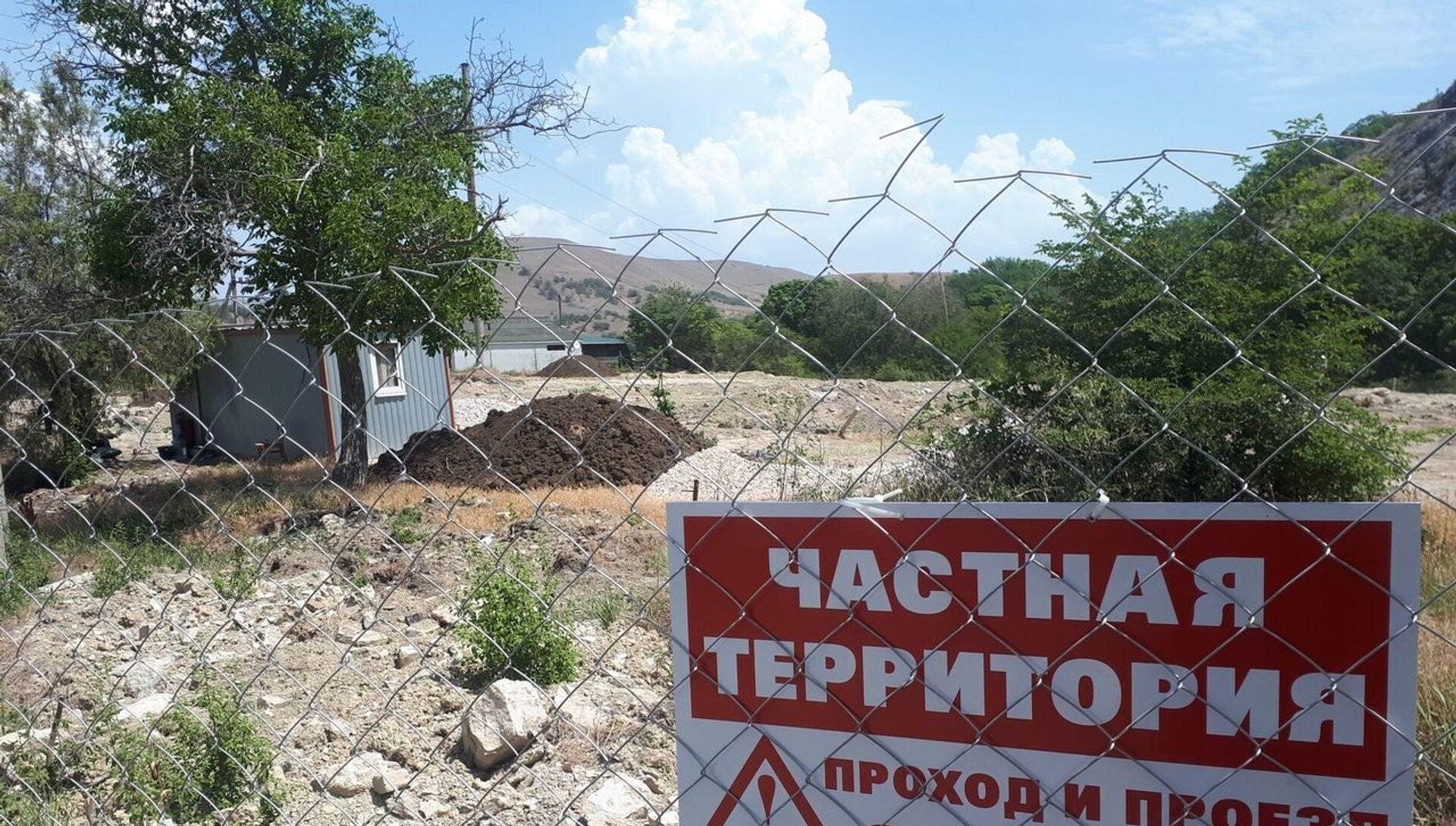 Незаконная стройка снова началась возле Кара-Дага - РИА Новости, 1920, 21.06.2020