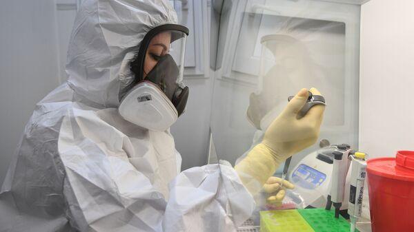Передвижная лаборатория для тестирования на коронавирус