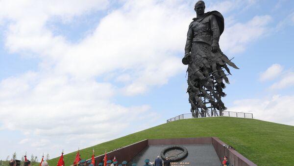 Ржевский мемориал. Торжественное открытие