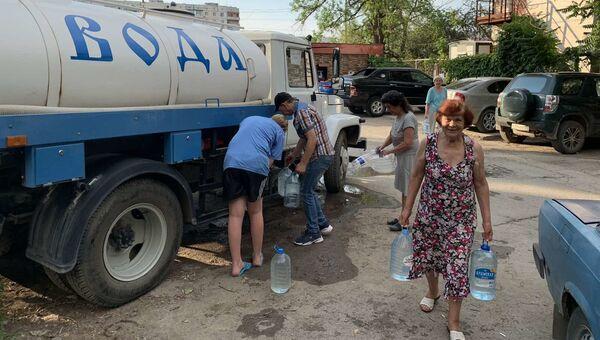 Подвоз питьевой воды в Симферополе