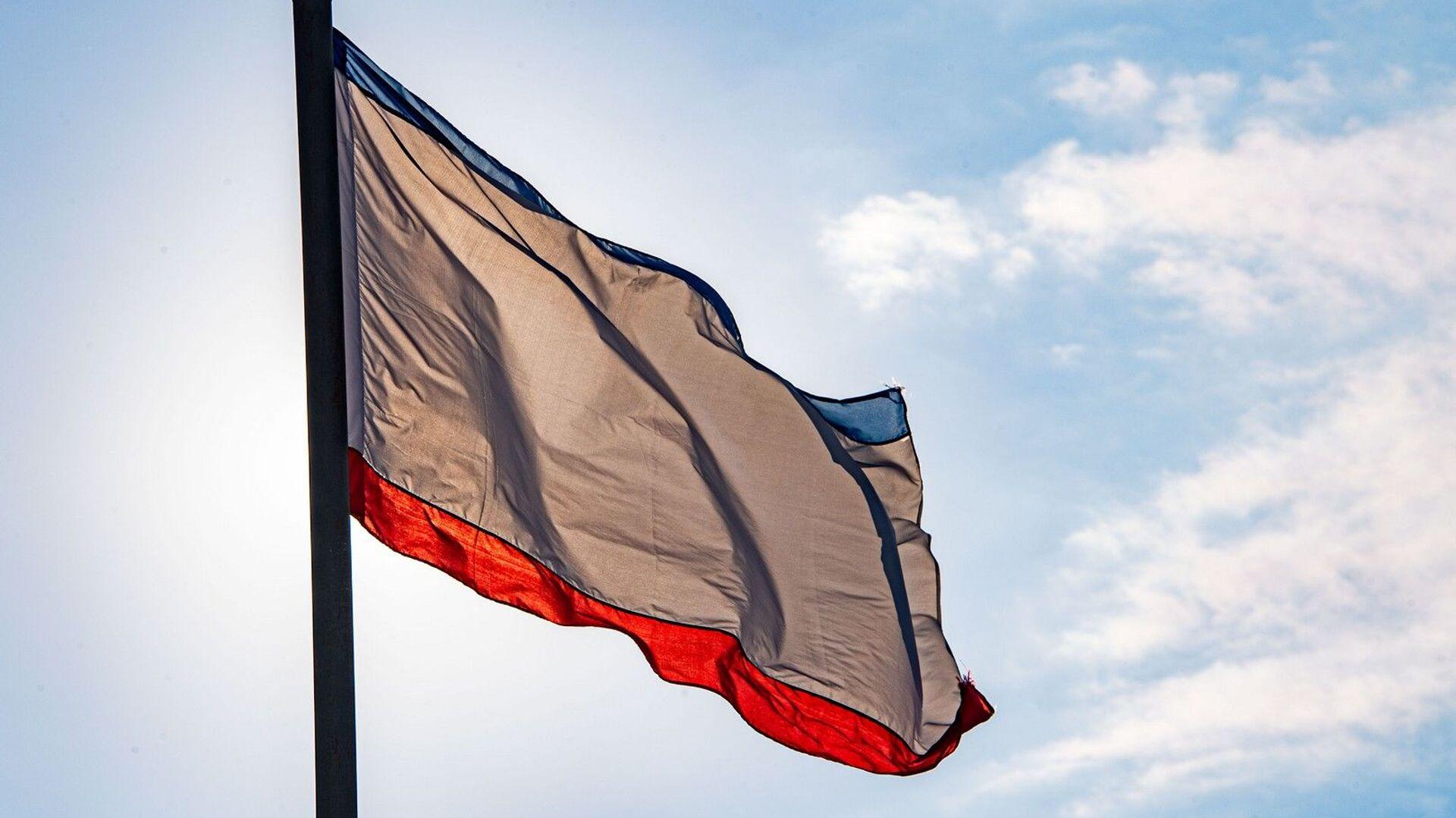 Флаг республики Крым - РИА Новости, 1920, 17.02.2021