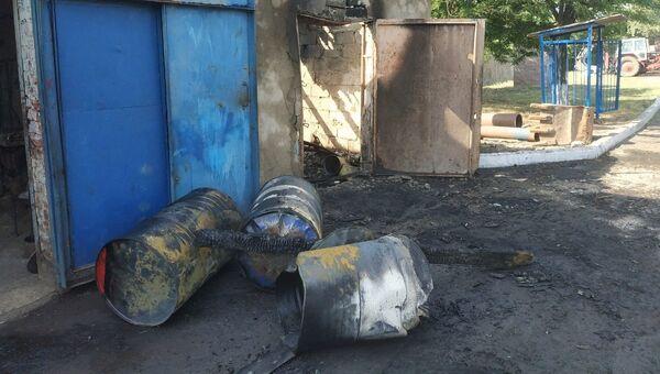 В украинской Ялте мужчина погиб на пожаре в гараже водоканала