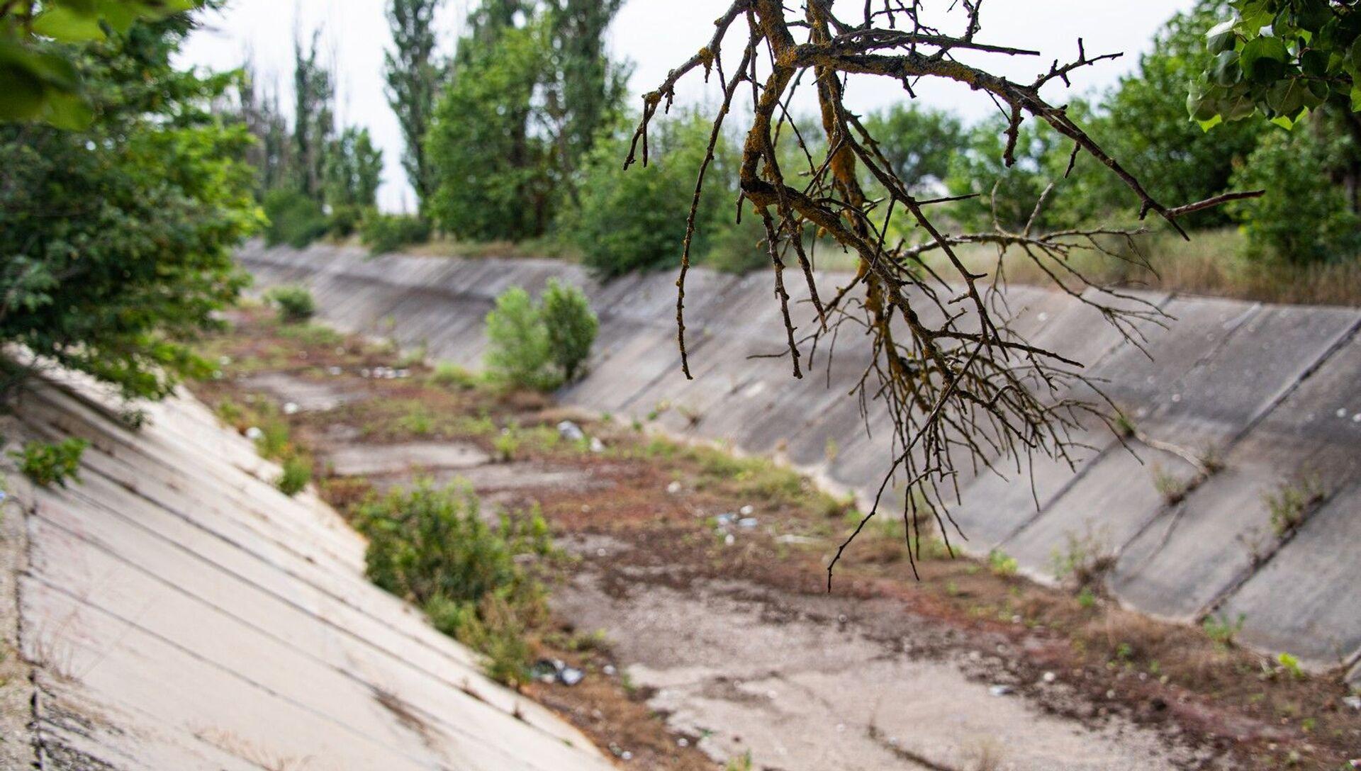 Северо-крымский канал без воды - РИА Новости, 1920, 24.03.2021
