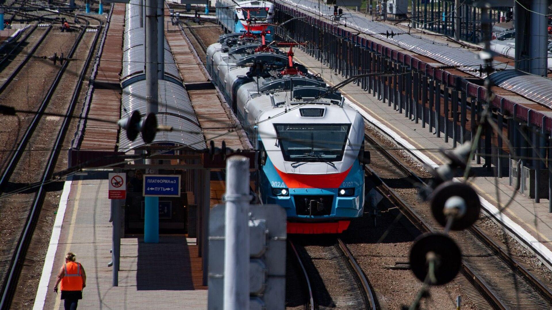 Железнодорожный вокзал - РИА Новости, 1920, 13.01.2021