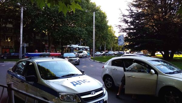 Тройное ДТП заблокировало выезд из Симферополя на ЮБК