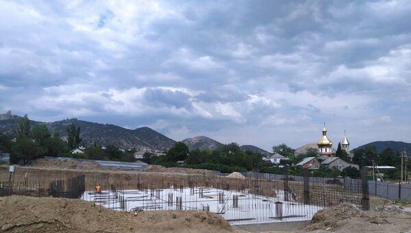Строительство школы в с. Веселое (Судакский регион)