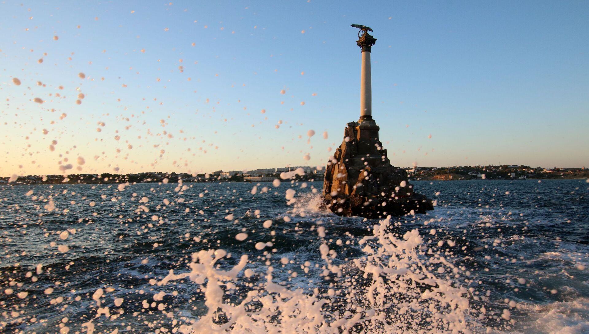 Памятник затопленным кораблям в Севастополе - РИА Новости, 1920, 24.05.2021