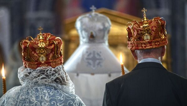 Венчание. Архивное фото