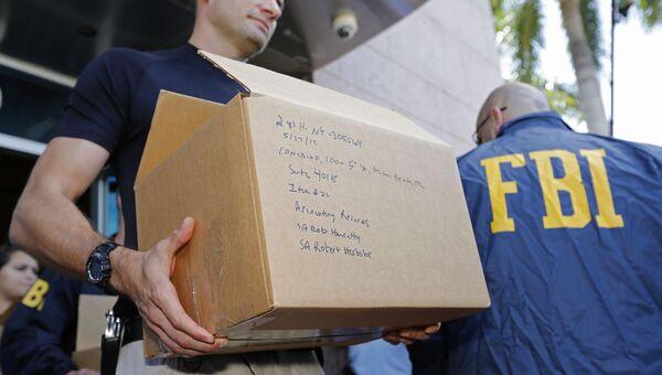 Агенты ФБР Архивное фото