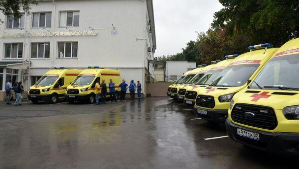 Крымские медики получили десять новых автомобилей скорой помощи