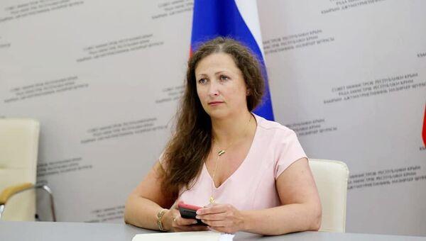 Зампредседателя Совета министров Крыма Юлия Жукова. Архивное фото