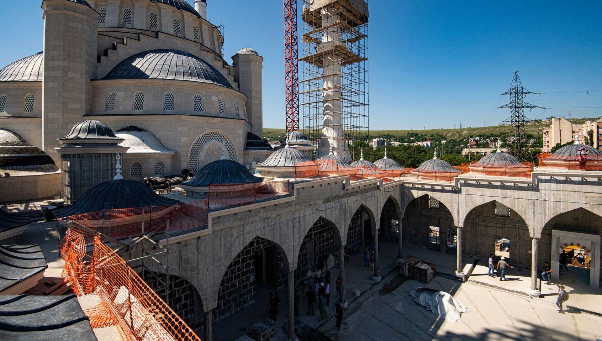 Строительство соборной мечети - РИА Новости, 1920, 31.07.2020