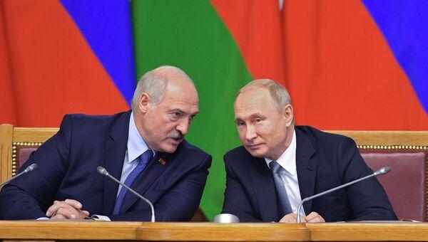 Рабочая поездка президента РФ В. Путина в СЗФО