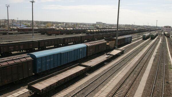 Железнодорожный узел. Архивное фото