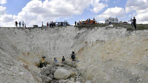 Пещера под трассой Таврида