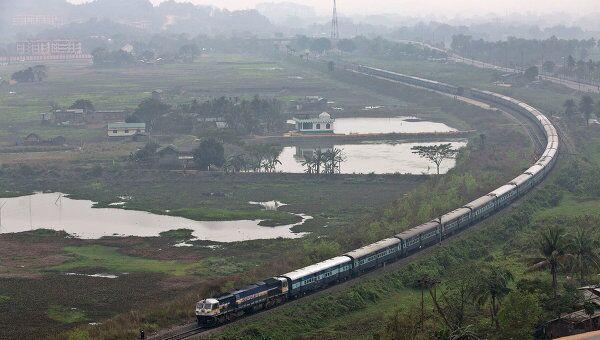 Индия. поезд