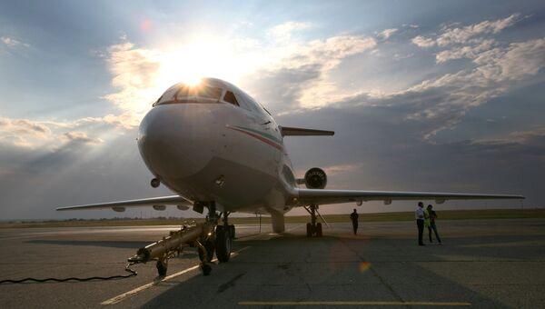 Первый международный авиарейс Симферополь-Стамбул