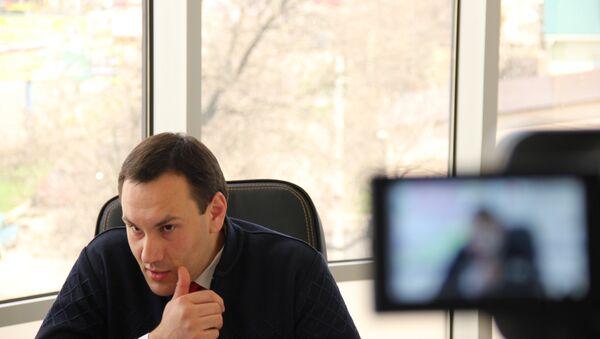 Глава Рескомрегистра Крыма Александр Спиридонов