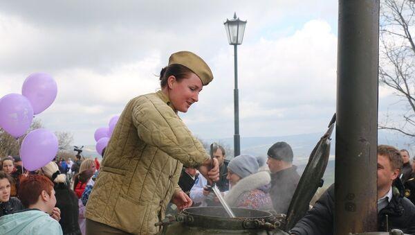 Акция Сирень победы в Севастополе