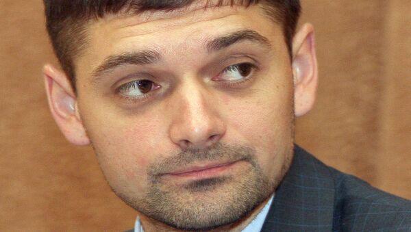Заместитель председателя Госсовета Андрей Козенко на первом заседании депутатов Государственного Совета Республики Крым в Симферополе.