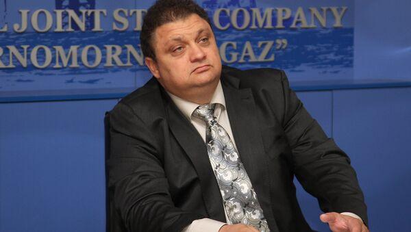 Генеральный директор КРП Черноморнефтегаз С.Бейм