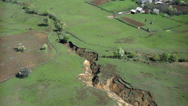 Последствия землетрясения в Грузии