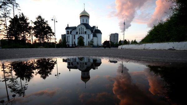 Храм Святого Равноапостольного Великого князя Владимира в Удомле
