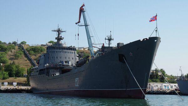 Большой десантный корабль Черноморского флота РФ Николай Фильченков, на котором служил Антон Неметовский.
